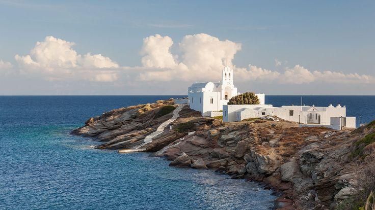 Nos conseils de voyage pour l'ile de Sifnos dans les cyclades. Toutes les informations et bons plans pour préparer au mieux vos vacances.