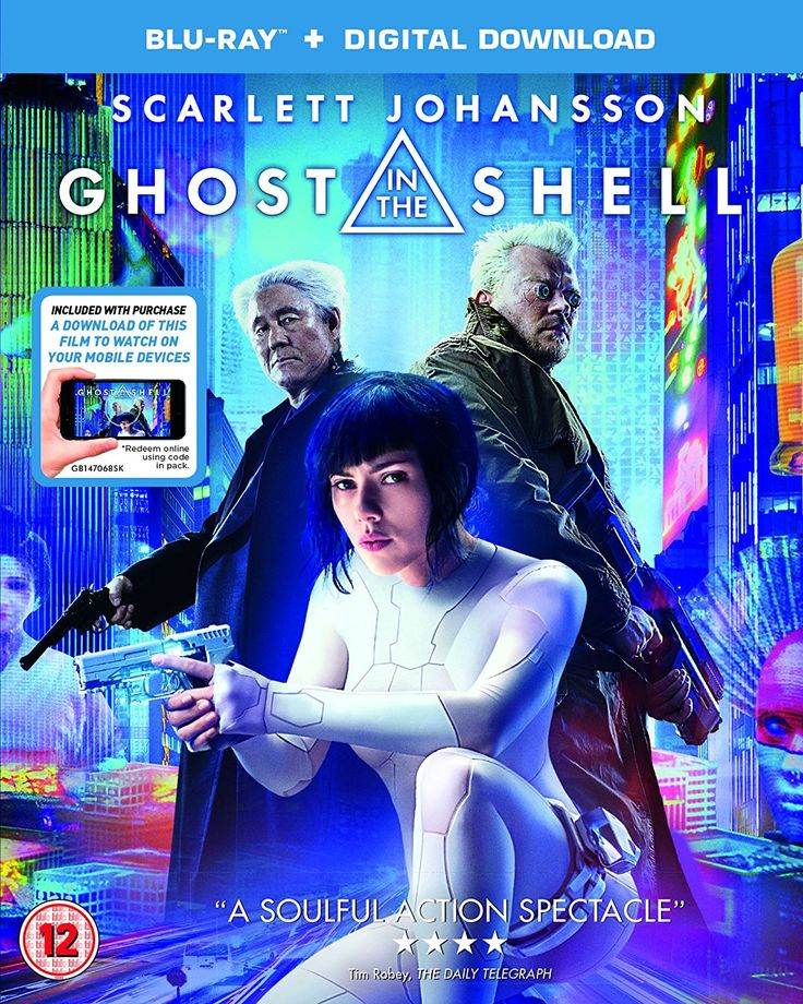 GHOST IN THE SHELL Blu-RayTM + digital download 2017: Amazon.co.uk: Scarlett Johansson, Michael Wincott, Michael Pitt, Rupert Sanders: DVD & Blu-ray