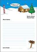 Santa letter template 1