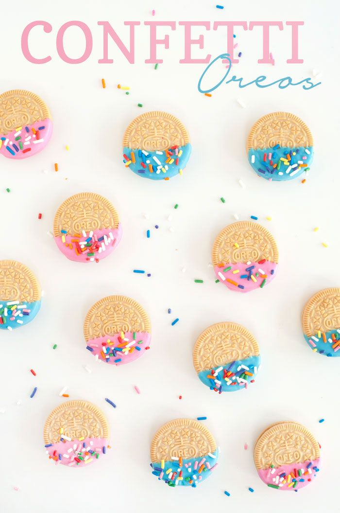Confetti Oreos | Sprinkles for Breakfast