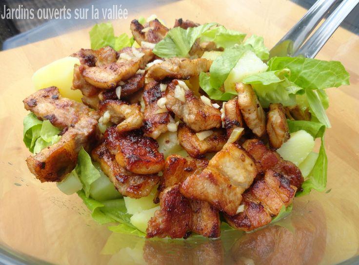 Salade complète à la scarole