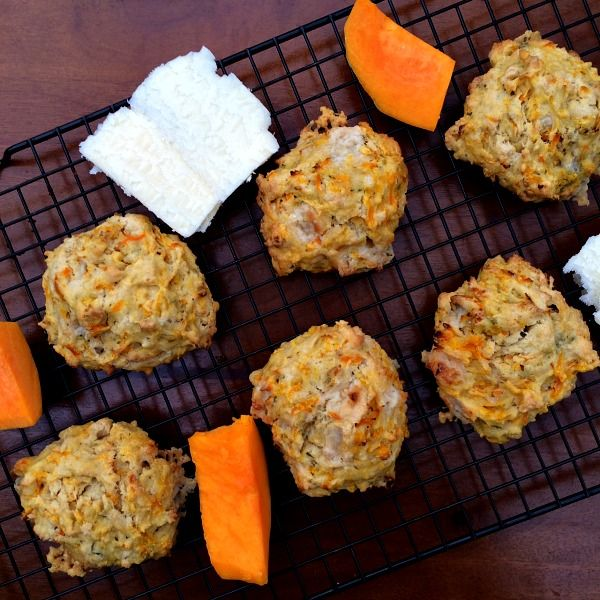 Butternut Squash Cheddar Drop Biscuits. The combination of shredded butternut squash and sharp cheddar cheese makes for a match made in heaven.