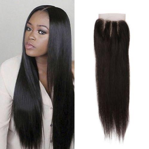 Grade 8a Brazilian Virgin Straight Hair 4x4 Three Part Lace Top Closures 8 20 Inch Natural Black 42 00 Straight Hairstyles Hair Styles Natural Hair Color