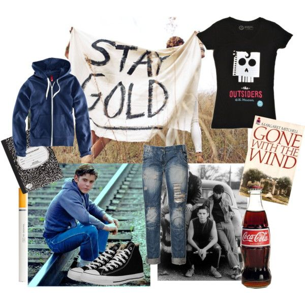 """Ponyboy Curtis-The Outsiders""-Polyvore"