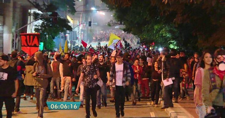 Fotógrafos detidos em protesto contra Temer são liberados