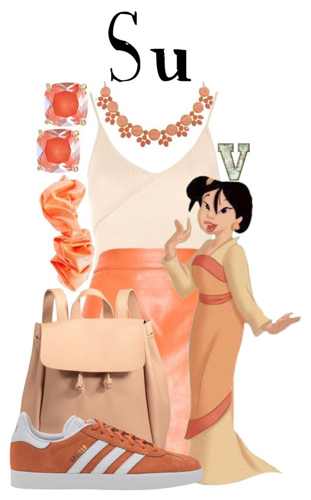 """""""Su (Mulan 2)"""" by fabfandoms ❤ liked on Polyvore featuring Kate Spade, Monet, Topshop, Forever 21 and adidas Originals"""