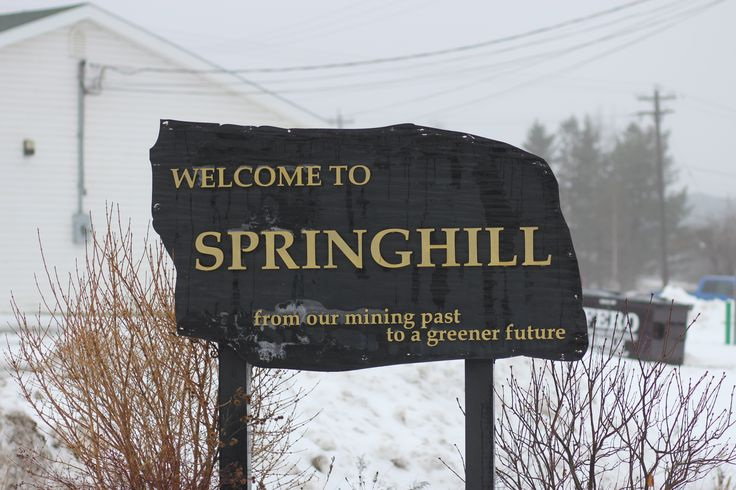 Welcome to Springhill, Nova Scotia