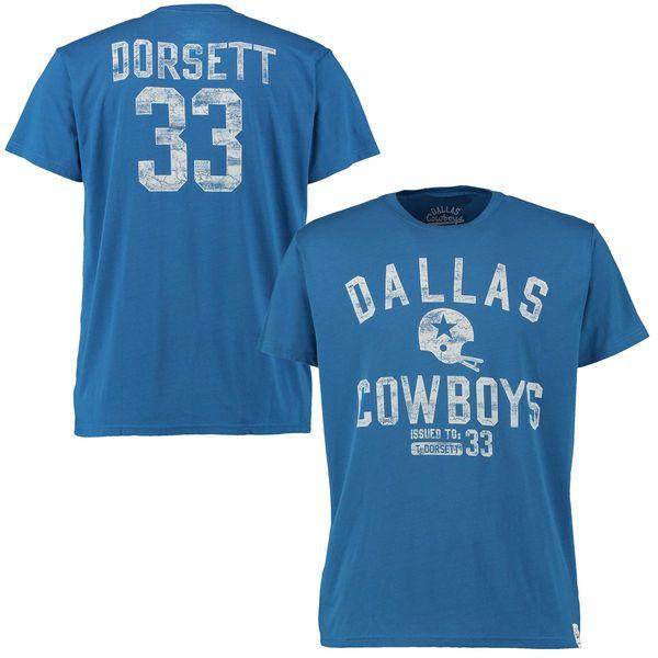 Tony Dorsett Dallas Cowboys Gordon T-Shirt - Blue - $29.99