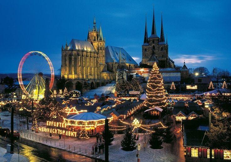 Weihnachtsmarkt in Erfurt