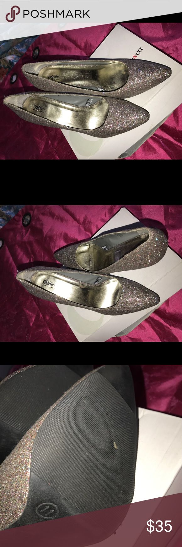 Mossimo pumps! Sale! Mossimo sparkle pumps! Mossimo Supply Co Shoes Heels