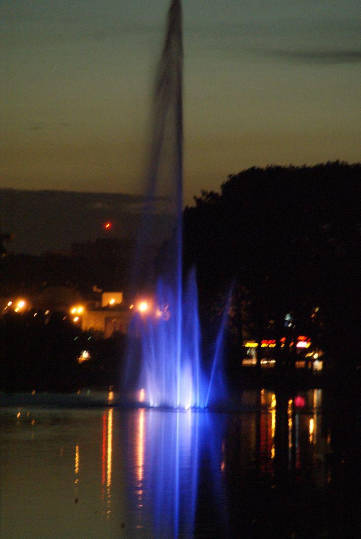 Malta -jezioro i fontanna