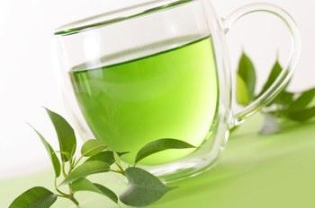Beautiful clear green tea - the best anti aging drink