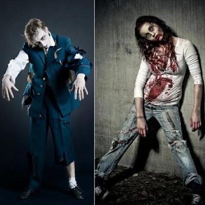 zombie costume/makeup
