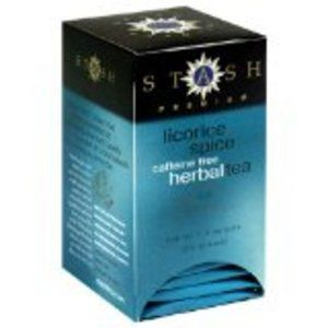 """Stash Licorice Spice Tea makes a wonderful pick-me-up in the afternoon. If you are thinking """"Yuck Licorice"""" then think again - it's not like you imagine."""