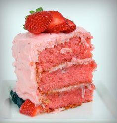 Very much like Edgar's Bakery Strawberry Cake