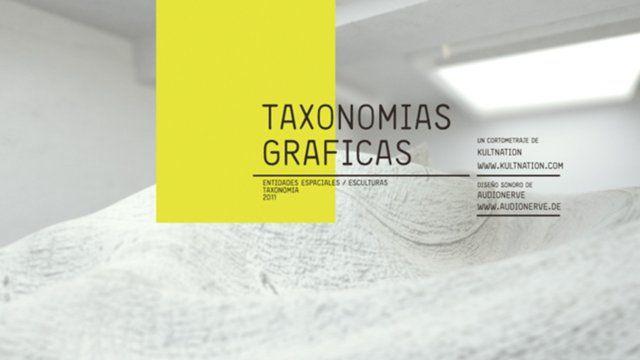 Graphic Taxonomies exhibits the relationships within graphic and new media design depicted by a living art installation.  Client: Centro Diseño - Cine - Televisión Design • Direction • Animation: Kultnation (http://www.kultnation.com) Sound Design: Audionerve (http://www.audionerve.de)