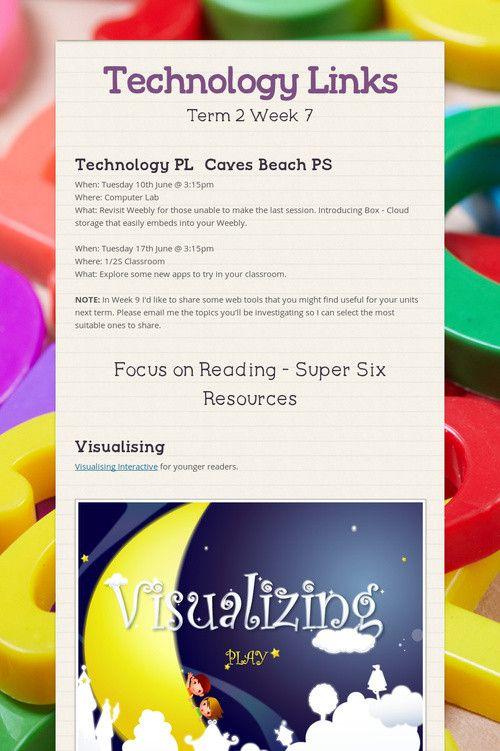 Technology Links T2 W7 2014