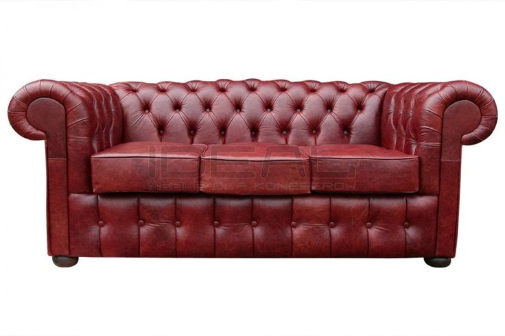 czerwona sofa chesterfield, red chesterfield, pluszowa sofachesterfield, velvet chesterfield,skórzana, skin, styl angielski, armchair ,  karmazyn, ceglana, perpur  , red, sofa chesterfield,  sofa_cheserfield_classic_old_IMG_9516a.jpg (900×600)