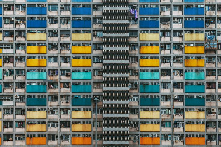 Photo Series 'Stacked' Showcases The Stunning Geometry Of Hong Kong's Public Housing The Huffington Post   By Avery Stone Email