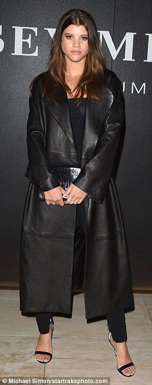 So thoughtful! Sofia Richie's new tiny spotted wiener dog was a gift from boyfriend Scott ...