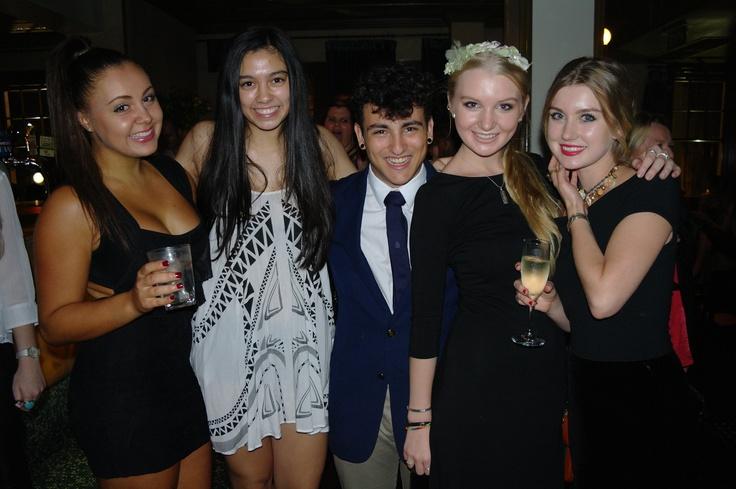 Julian's 21st - Talia Di Giulio, Talia, Daniel Raso, Harriet and Isabel Durant