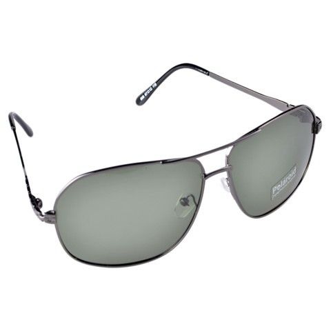Polarized Glare-Guard Alloy Frame UV400 Sunglasses (Grey)