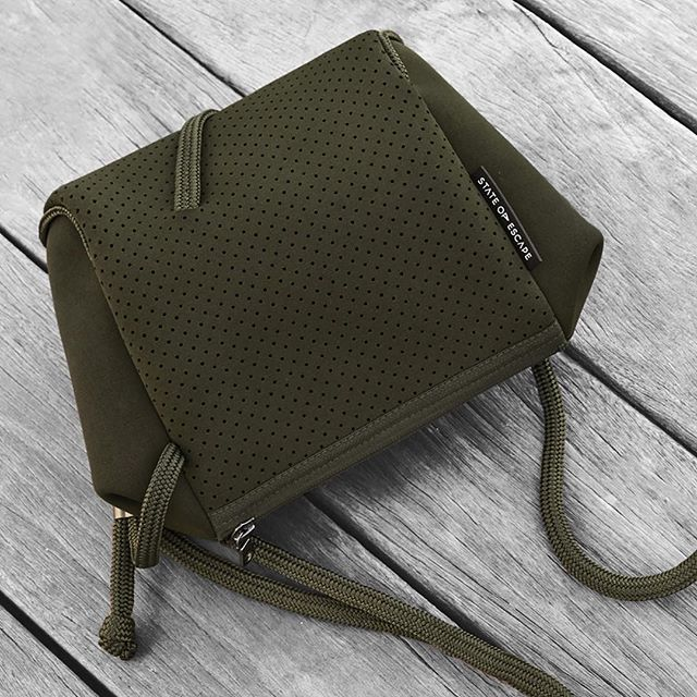 Khaki beauty wrapped up in a small package. Released today the Festival…