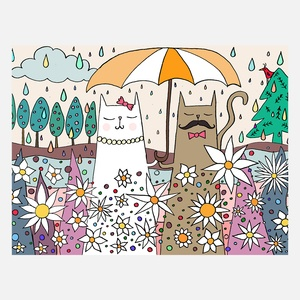 Cats Always Care About Print A4 now featured on Fab.