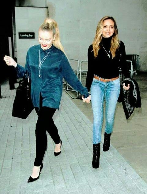 Perrie and Jade (Little Mix)