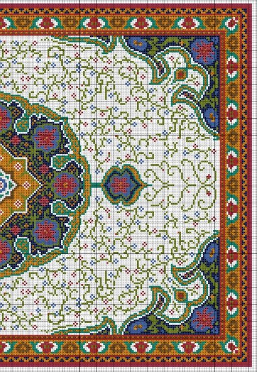 Gallery.ru / Фото #3 - Floral Carpet (Latch Hook) - azteca