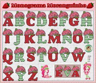 monograma Moranguinho