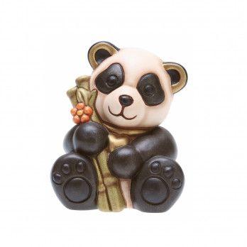 Panda con bamboo