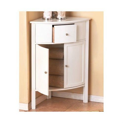 Corner cabinet bathroom white wooden furniture cabinets small kitchen Wooden bathroom furniture cabinets