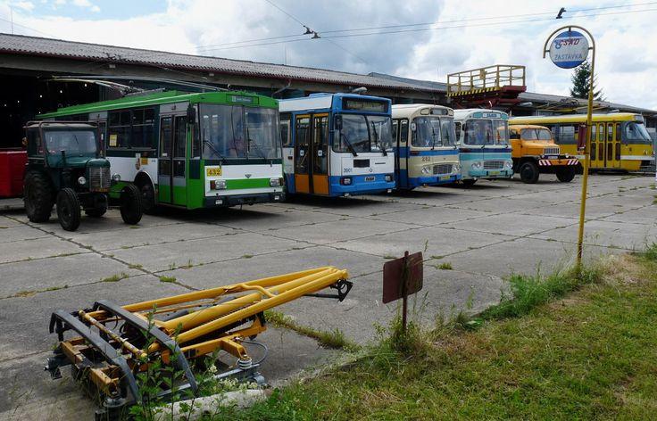 Muzeum dopravy ve Strašicích-Současný vzhled areálu muzea, foto Michal Kouba