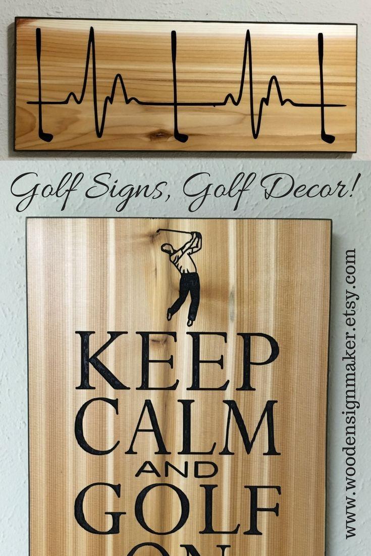 Golf Sign Decor Gift For Him Her Golfer