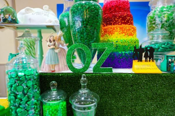 wizard idea The coolest diy ideas for your wizard of oz party babble  the coolest oz-inspired party ideas  another wizard of oz cupcake idea.