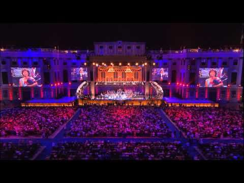 Musician and Conductor André Rieu performing Amazing Grace live in the Amsterdam ArenA with His Johann Strauss Orchestra and a contingent of bagpipes. Amazing Grace played with bagpipes is something I'll never get tired of listening to and this performance is just spectacular.