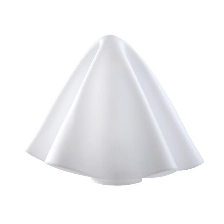 Articolo: LPMAT040-LAManteau nasce dalla creativita' dell'artista Ferdi Giardini e s'ispira alla sua collezione di sculture in metacrilato termoformato che riproducono teli e veli morbidi. Questa lampada va ad ampliare la collezione di lampade da tavolo e sospensione del catalogo SLIDE. Manteau e' una lampada raffinata, dalle linee morbide e discreta per le sue dimensioni contenute. Si adatta facilmente a tutti i tipi di ambiente e può essere posata per terra o su un mobile. Un'originale…