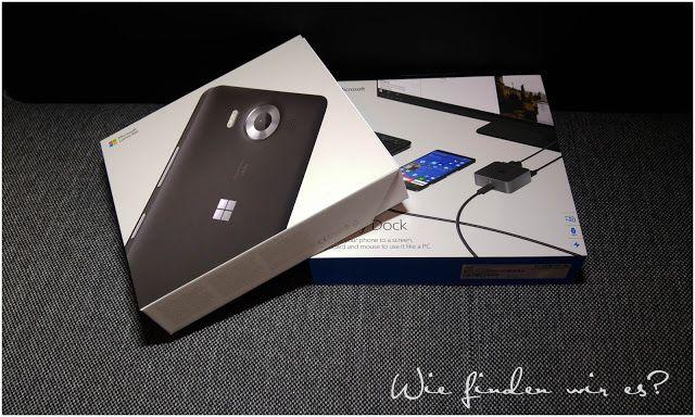 Wie finden wir es ???  : Microsoft Lumia 950 Unboxing + Produkttest bei paa...