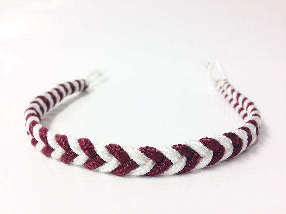 Texas A&M, WHOOP! Hey, I found this really awesome Etsy listing at https://www.etsy.com/listing/219884439/custom-paracord-sunglass-strap-fishtail