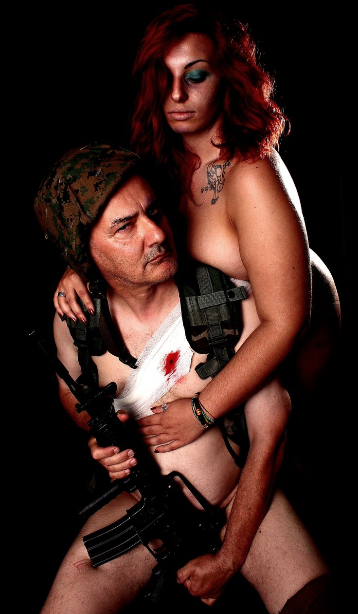 """Valentine and me in: The Soldier's Wife (for """"Groddeck"""" set)"""