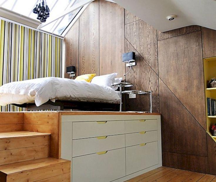 Die besten 25+ Jugendlicher Loft Schlafzimmer Ideen auf Pinterest - zimmereinrichtung modern schlafzimmer