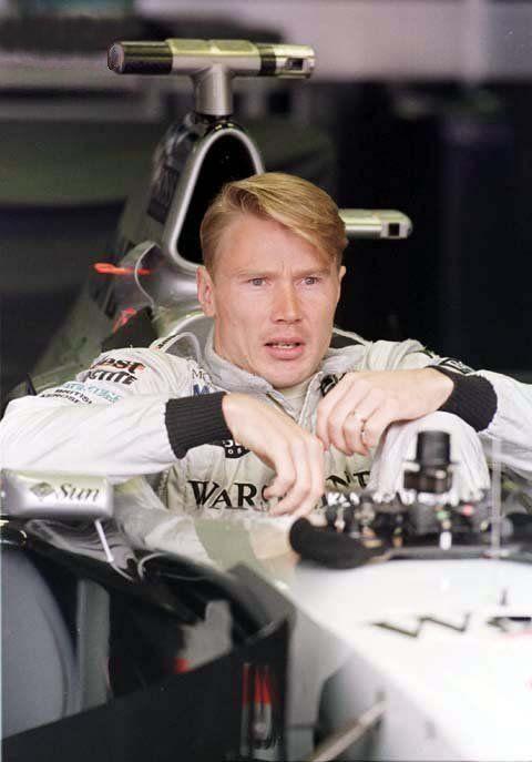 Mika Häkkinen, F1 driver