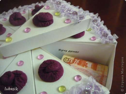 Бумажный торт. Фото 3