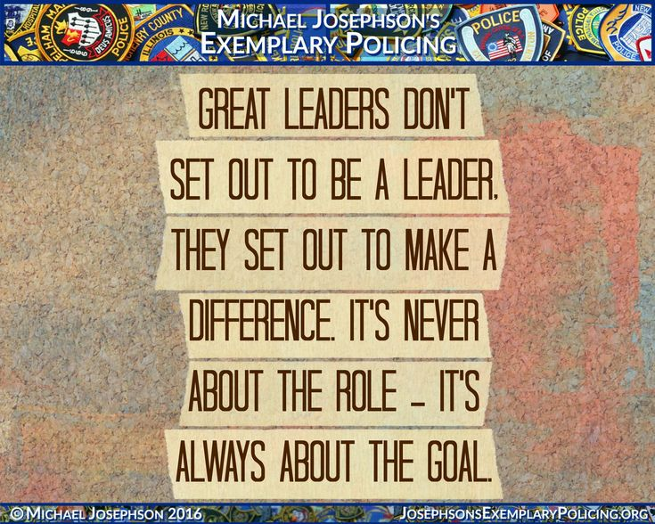 What Makes A Good Leader Quotes: Best 25+ Police Quotes Ideas On Pinterest