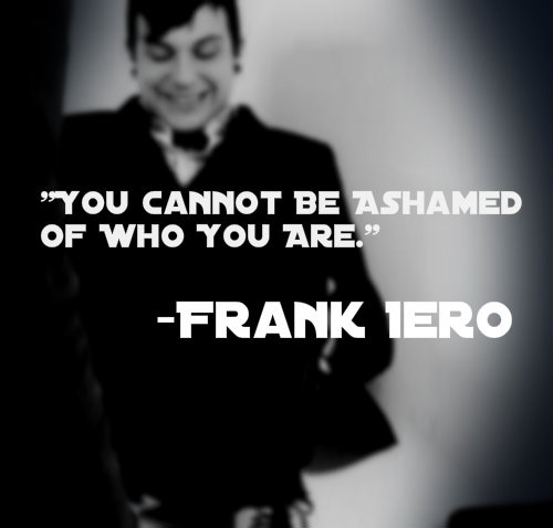 Say it now and say it loud, Frankie. Killjoys, make some noise!!