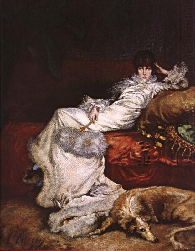 Portrait de Sarah Bernhardt -Georges Clairin- Petit Palais Paris (Collection permanente)