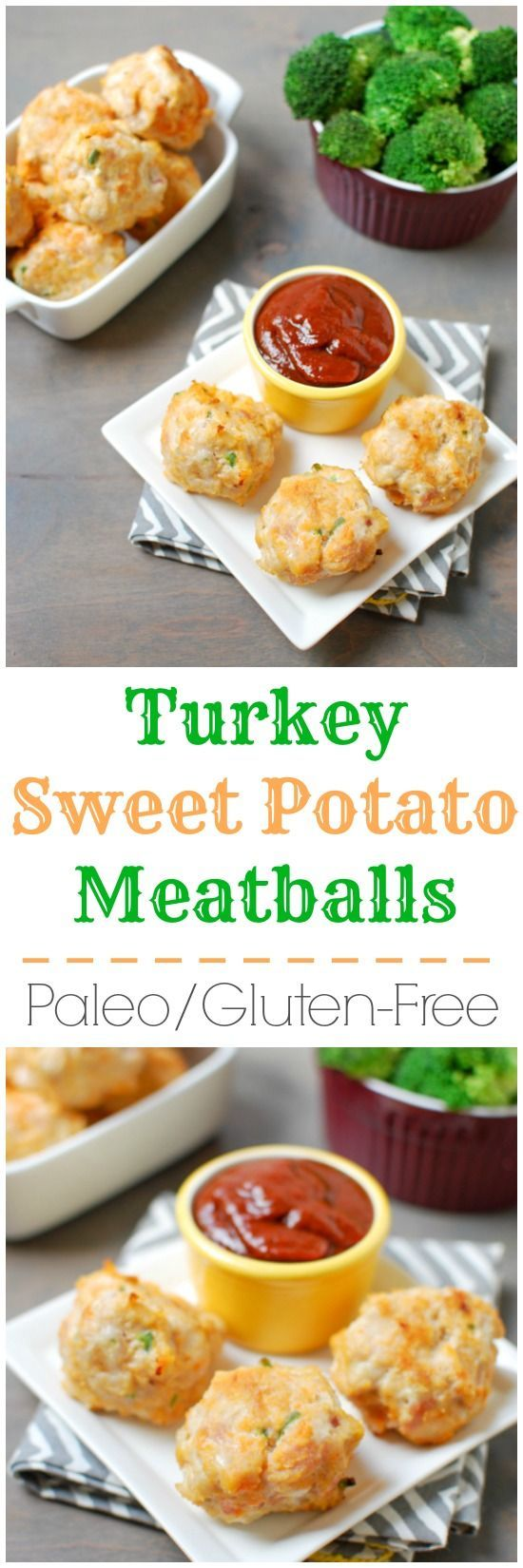 This recipe for Paleo Turkey Sweet Potato Meatballs are spicy, flavorful and delicious. Enjoy them plain, with a dipping sauce or over noodles for dinner.