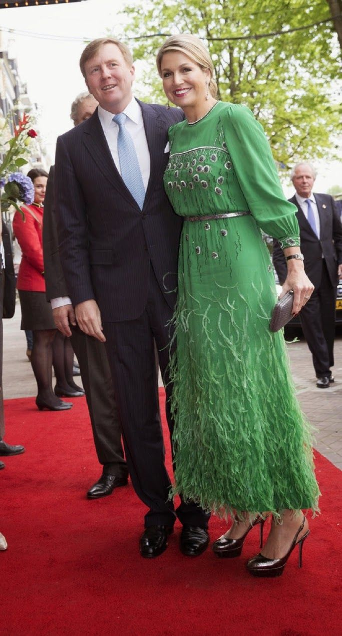 King Willem-Alexander and Queen Maxima Attend Freedom Concert in Amsterdam