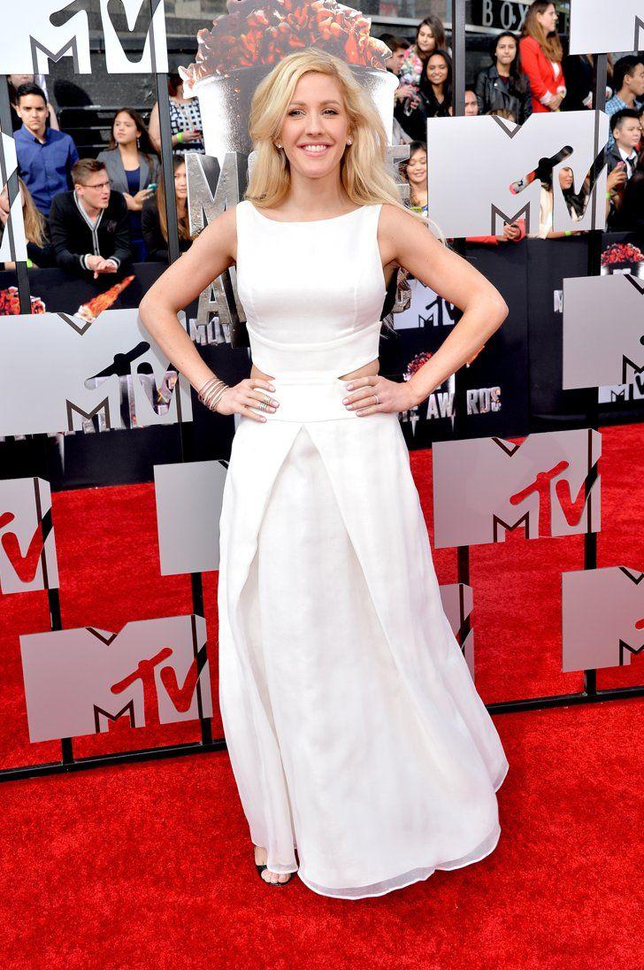 Pin for Later: Les stars étaient nombreuses hier soir aux MTV Movie Awards ! Ellie Goulding